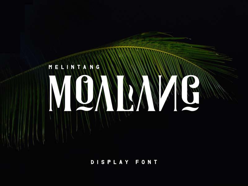 Moalang - Free Font