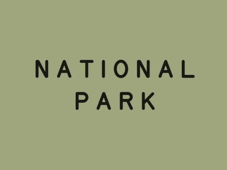 National Park Typeface