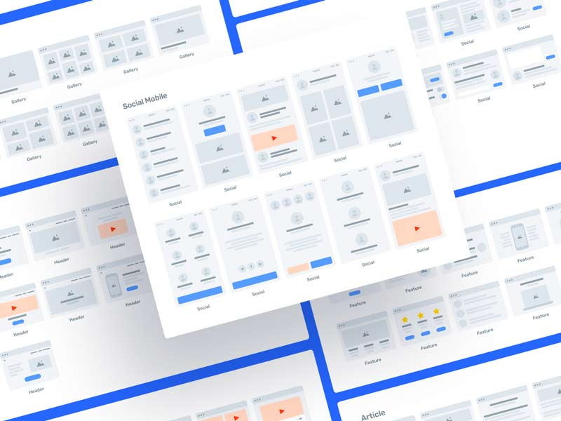 Greyhound Flowcharts 2 - Free for Sketch and Figma
