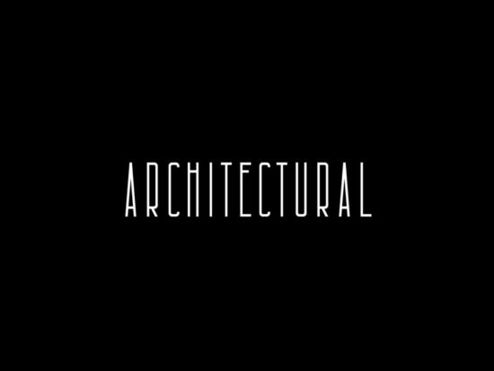 Architectural - Free Font