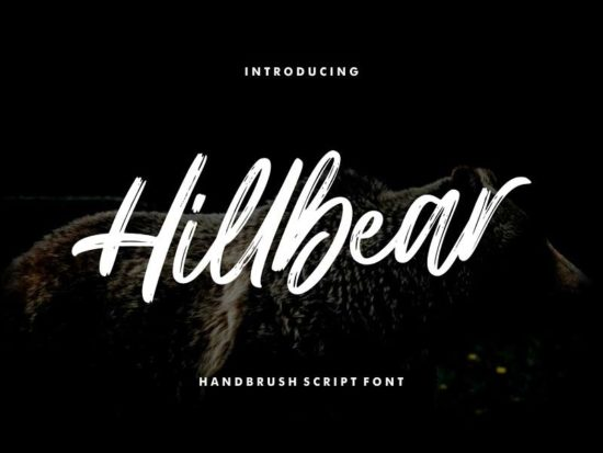 Hillbear - Free Font