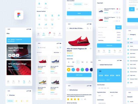 Lafyuu - eCommerce Free Figma UI Kit